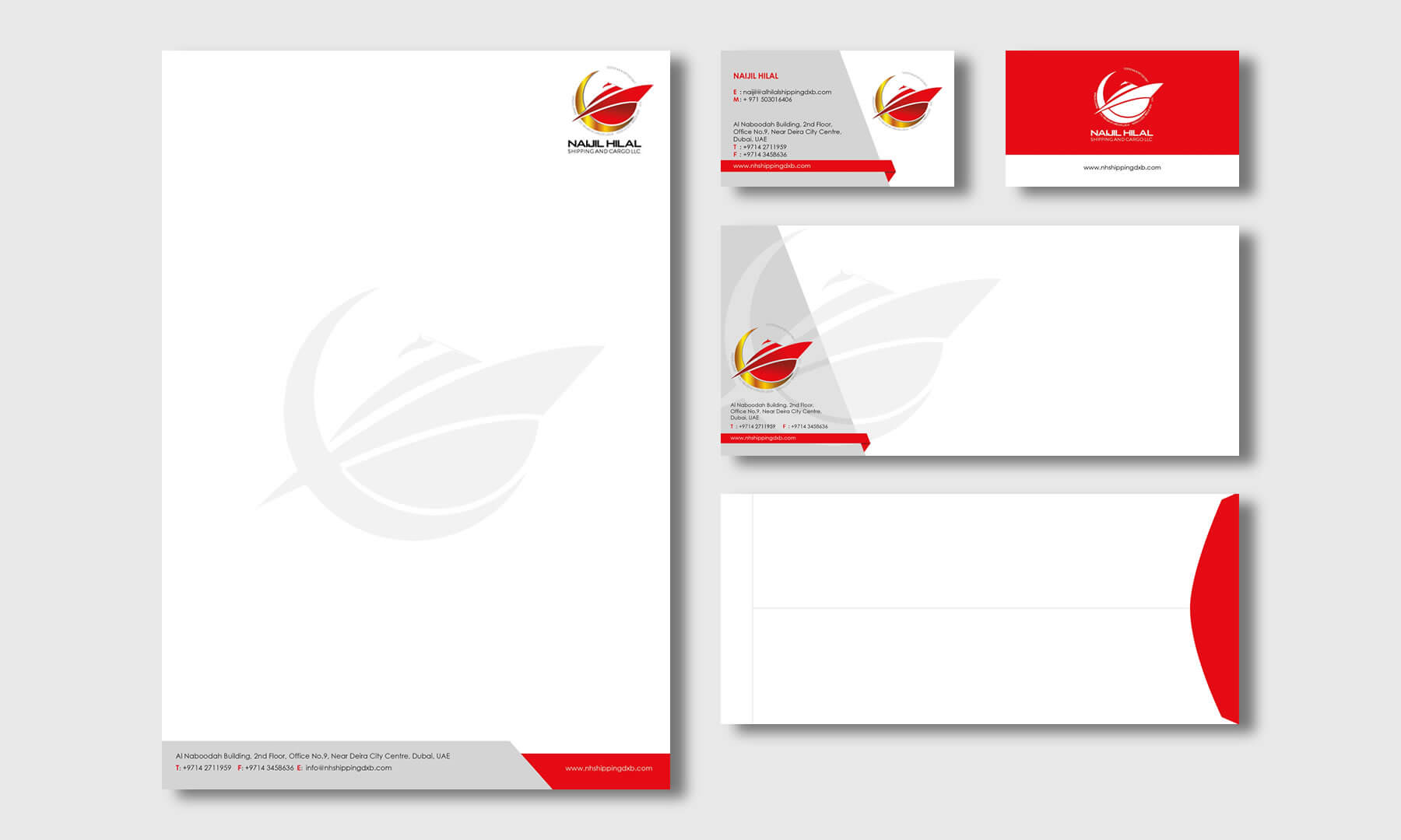 Business stationary designs by Kerala freelance designer