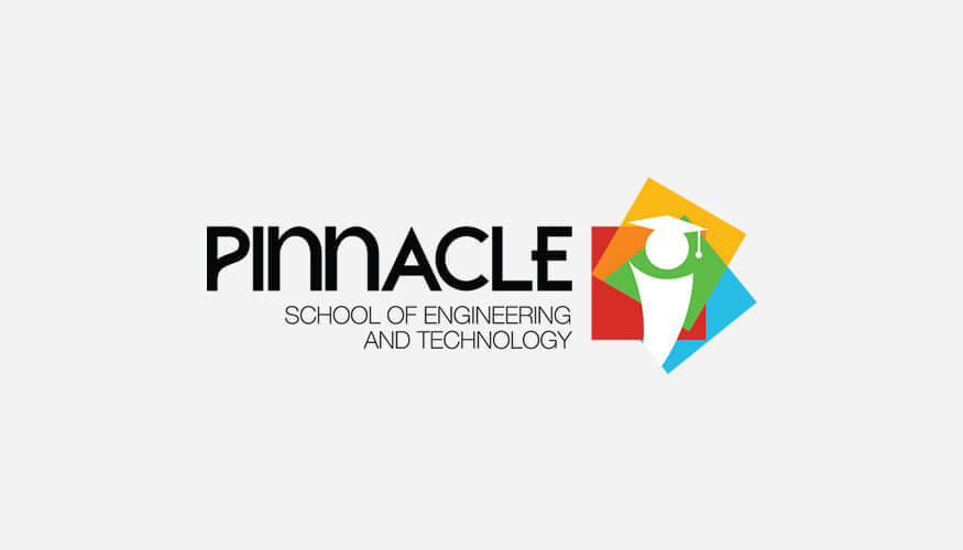 Freelance logo design for Pinnacle School Of Engineering And Technology, Kerala