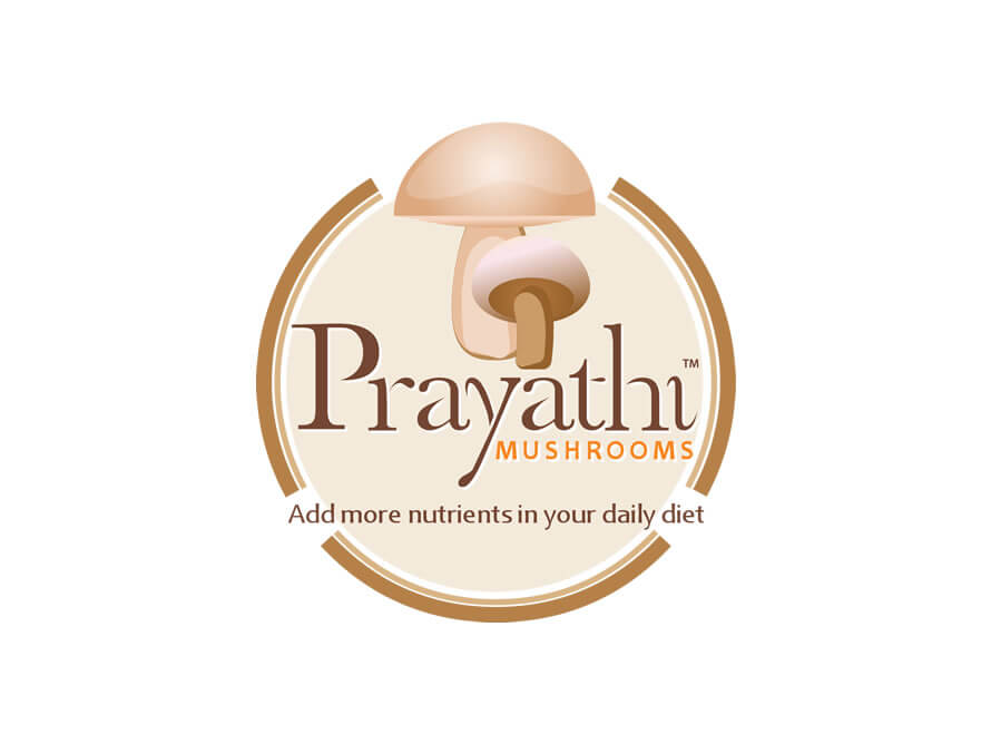 Kerala freelancer logo design for Prayathi Mushrooms