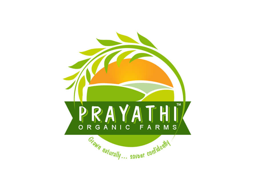 Kerala freelancer logo design for Prayathi Organic Farms