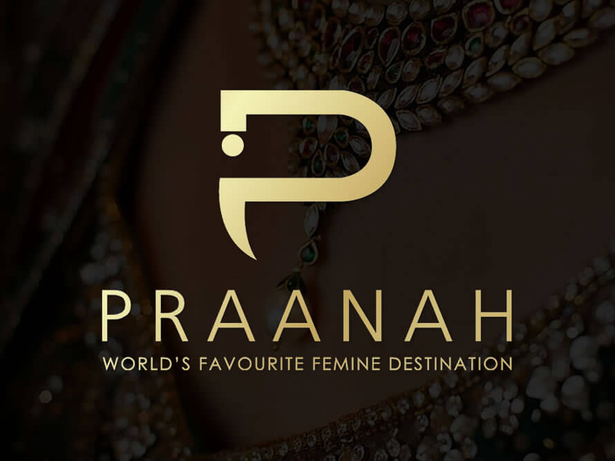 Kerala freelance logo design service for fashion e-store praanah
