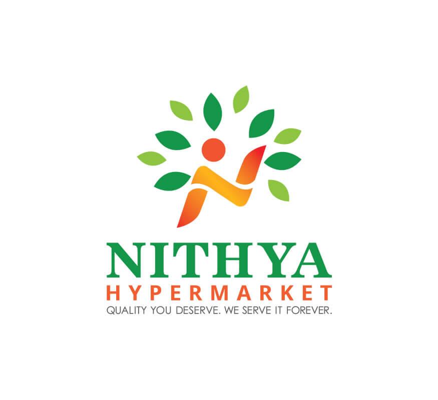 Kerala freelance logo design for Nithya Hypermarket