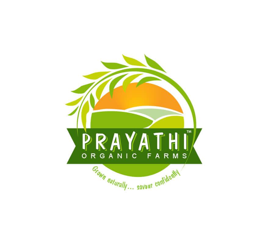 Kerala freelance logo designer for Prayathi Organic Farms