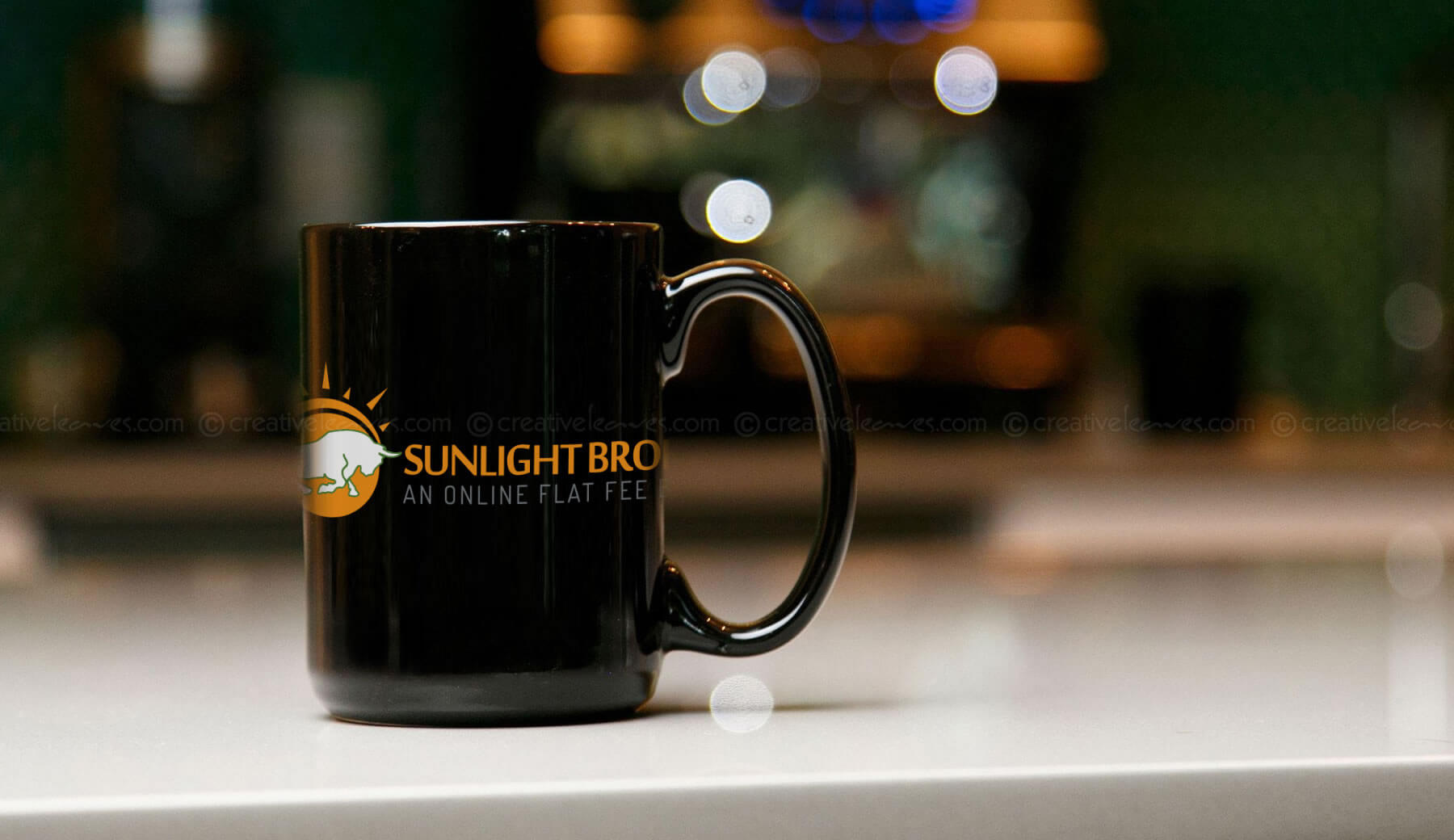 Sunlight Broking Logo design by Kerala freelance logo designer
