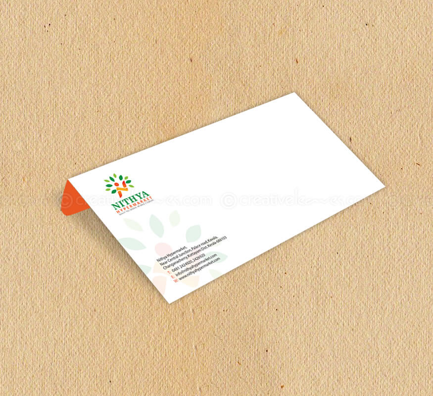 Kerala freelance logo and branding design for Nithya Hypermarket