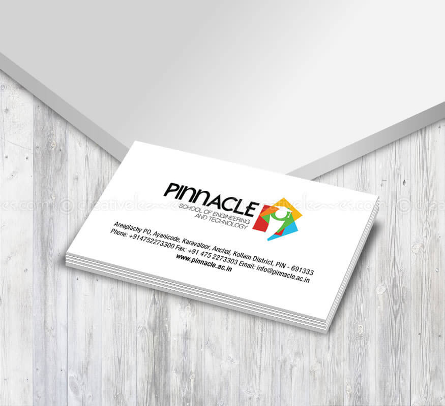 Kerala freelance logo design for Pinnacle School Of Engineering And Technology