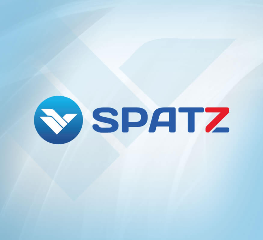 Spatz International logo design by Kerala freelance logo designer