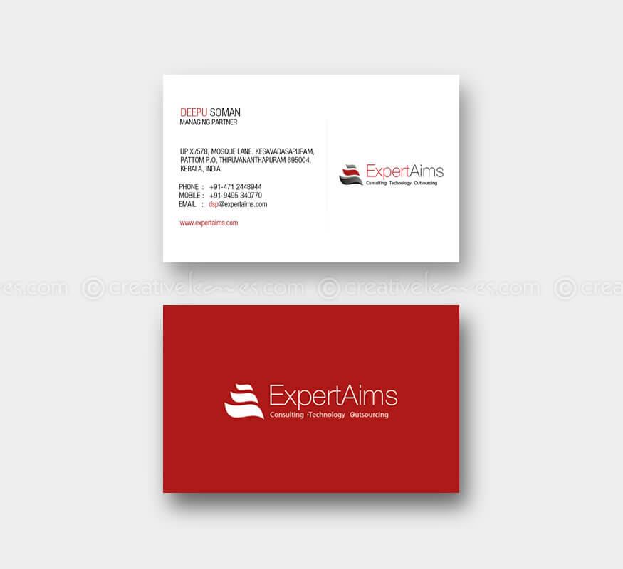 ExpertAims Consultancy Logo design and branding designs by Kerala freelance logo designer