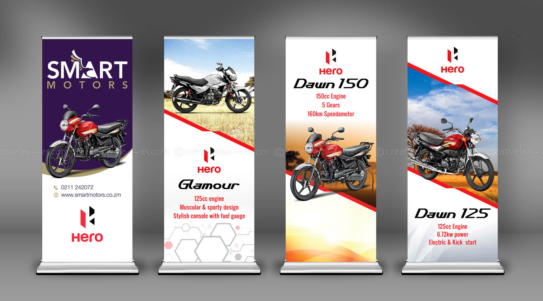 Roll Up Banner banner design Kerala freelance graphic designer