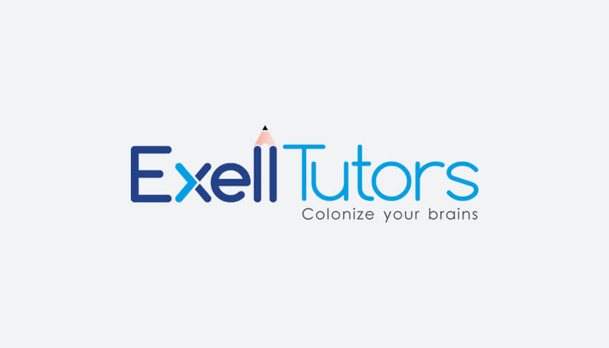 Kerala freelance logo design for Exell Tutors