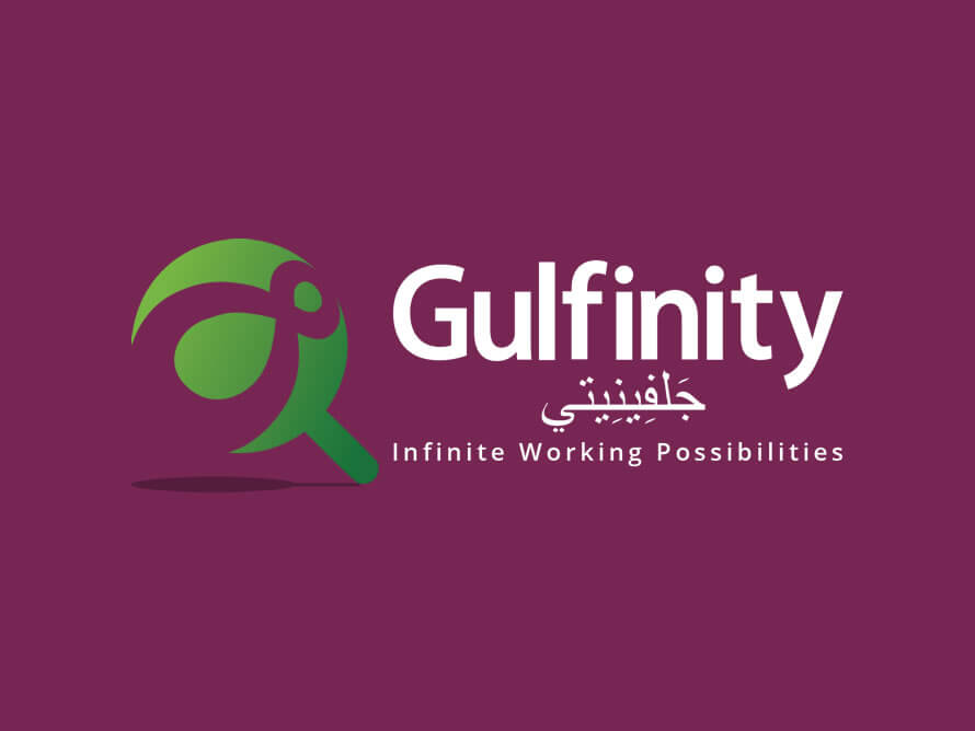 Kerala freelance logo design for Gulfinity, Qatar