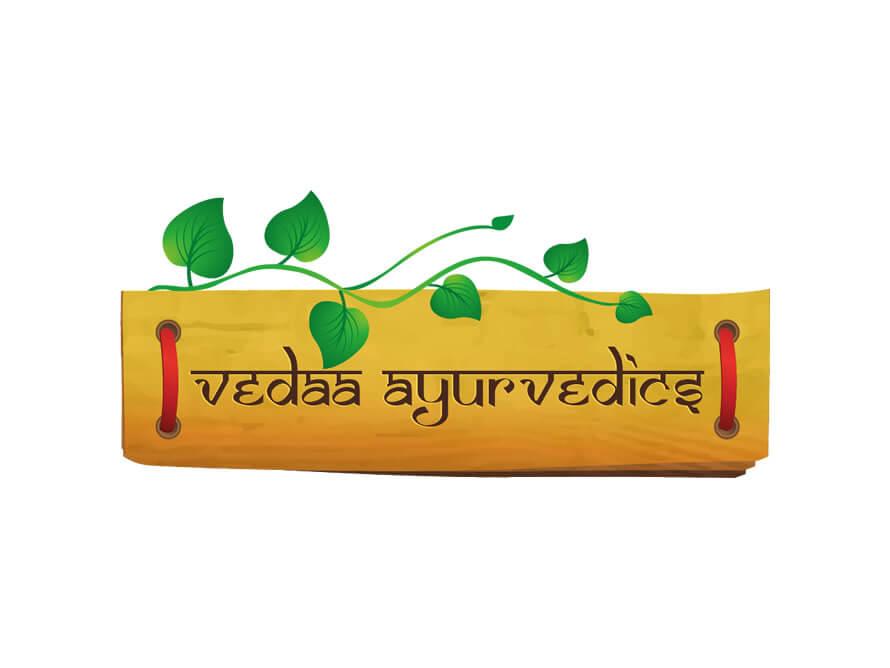 Kerala freelance logo designer for Vedaa Ayurvedics Logo