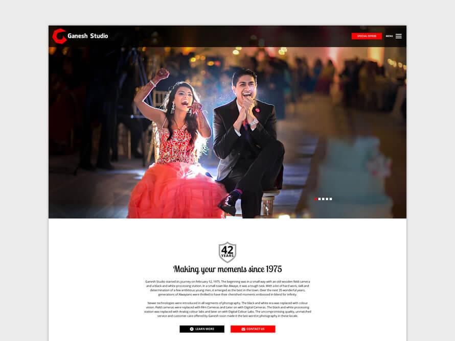 Kerala freelance designer for wordpress websites