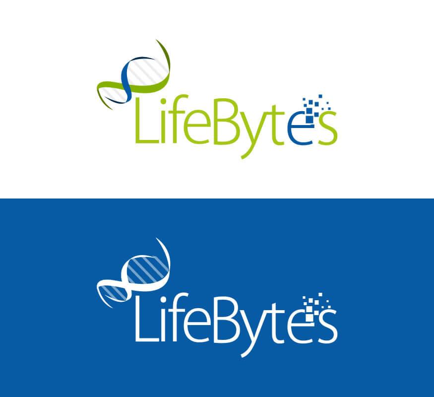 Kerala freelance logo designer for LifeBytes