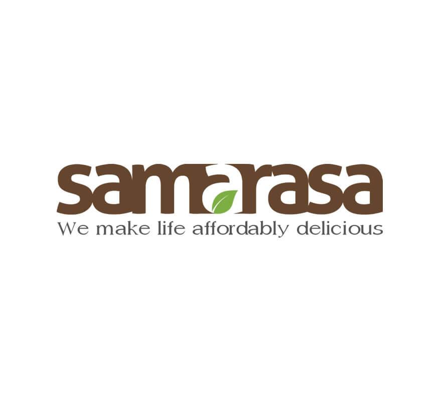 Samarasa logo design by Kerala freelance logo designer