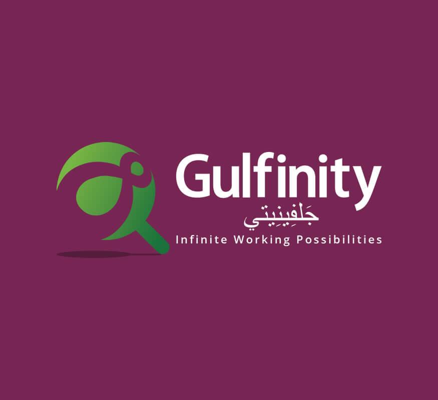 Kerala freelance logo design for Gulfinity, Qatar