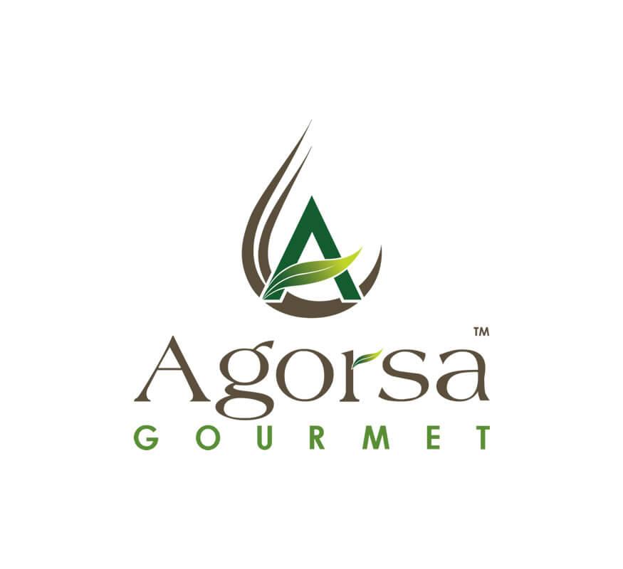 Agorsa Gourmet Logo by Kerala freelance logo designer