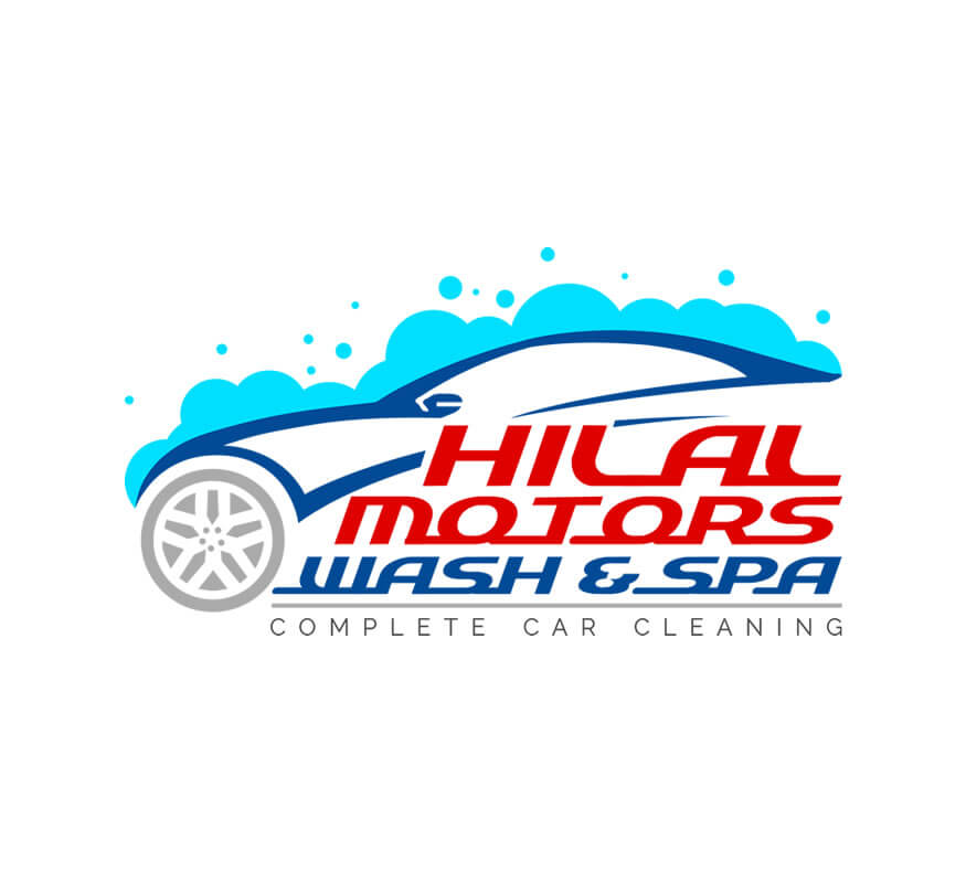 Kerala freelance logo design for Hilal Motors Wash & Spa