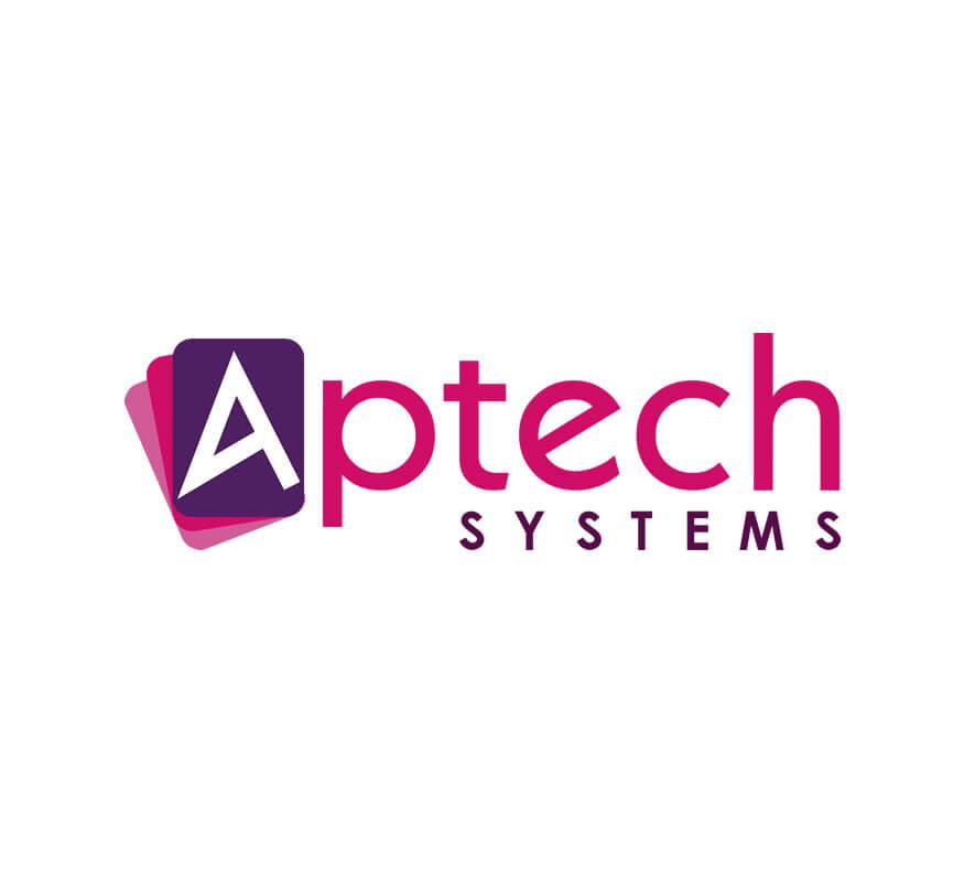Kerala freelance logo for Aptech Systems Kochi
