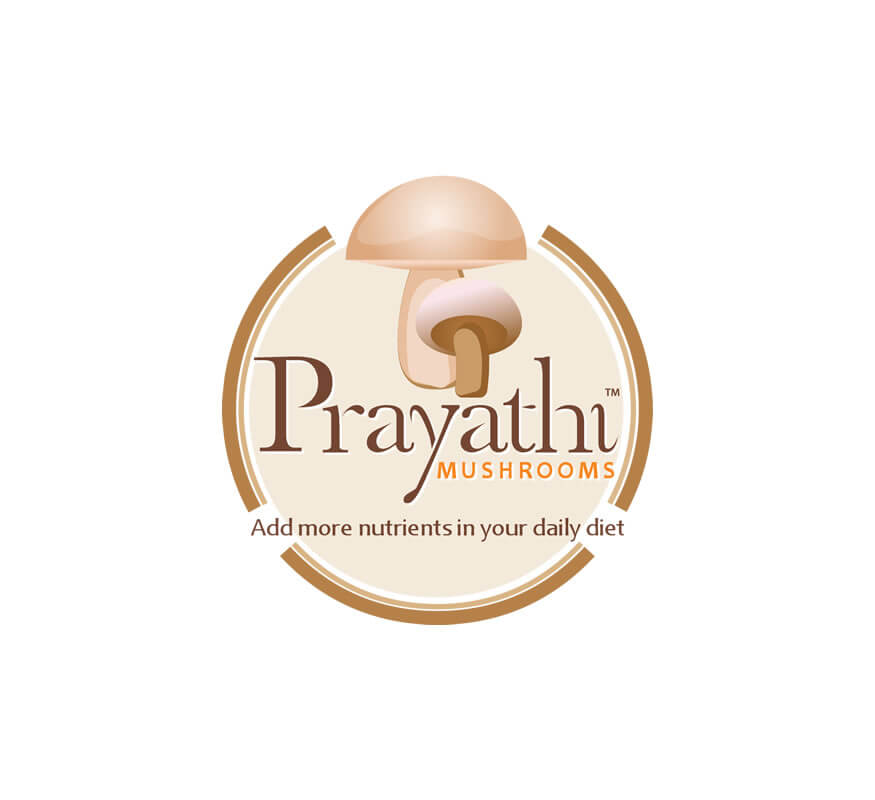 Kerala freelance logo designer for Prayathi Mushrooms