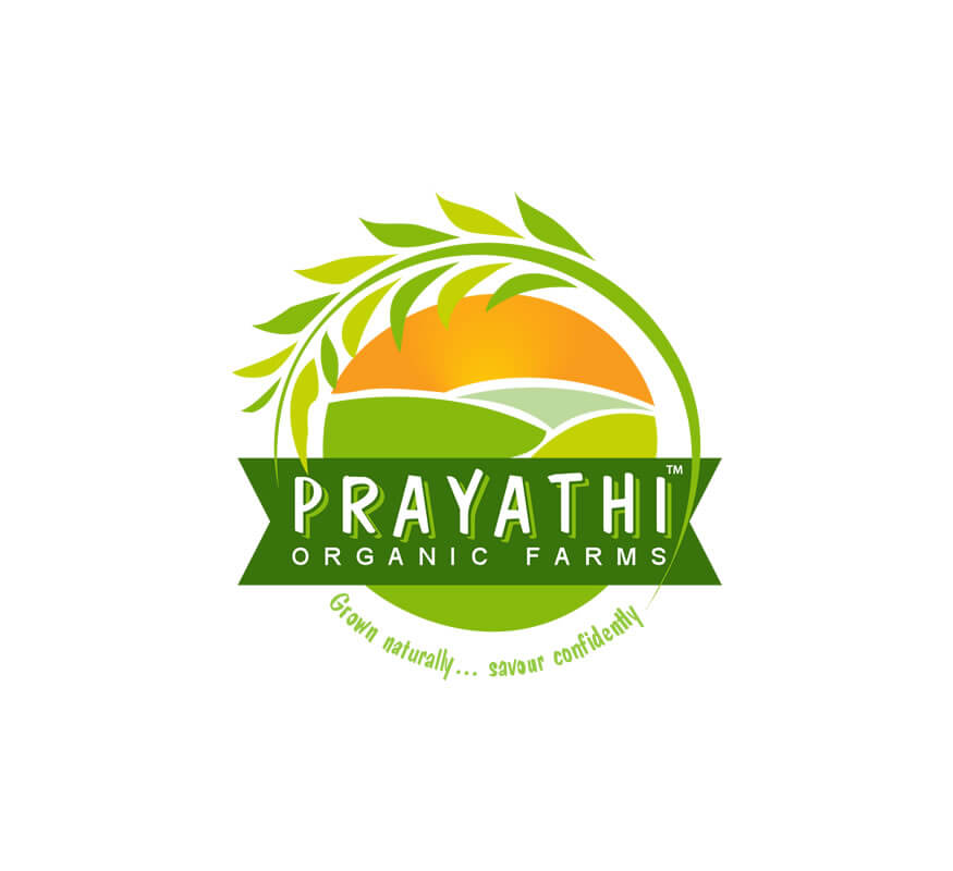 Kerala freelance logo designer for Prayathi Organic Farms