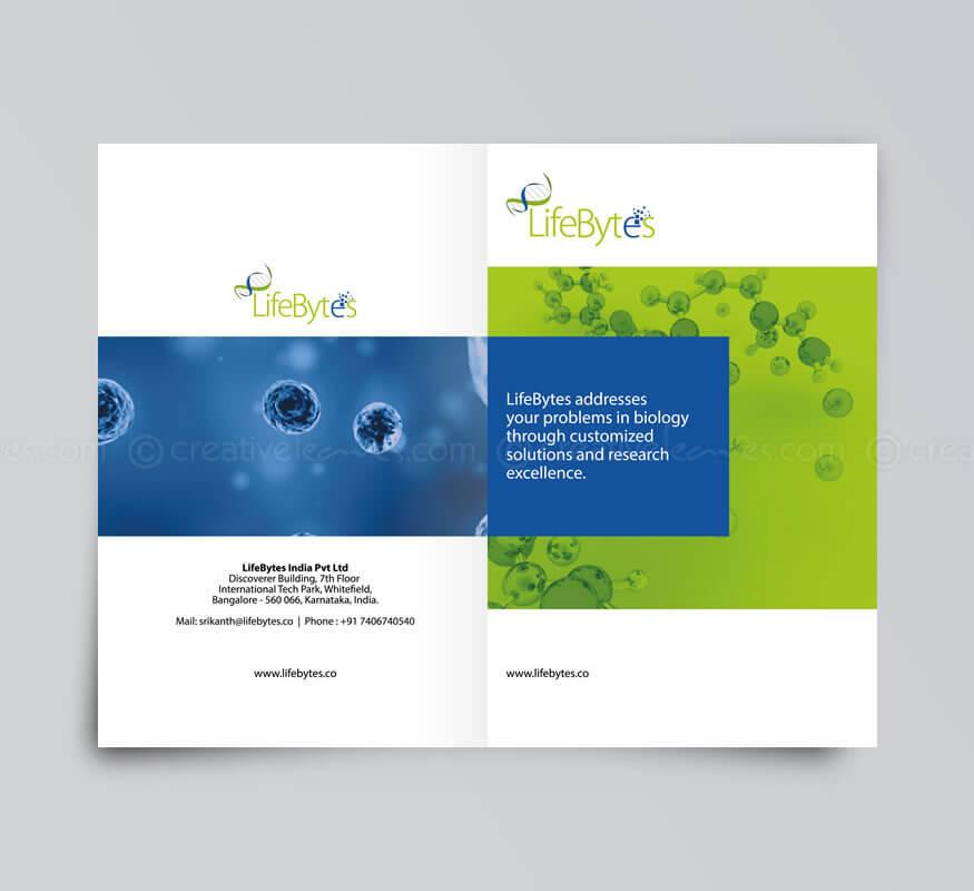 Brochure design by Kerala freelance web designer