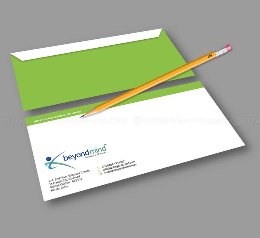 Beyond Mind logo and branding designs by Kerala freelance logo designer