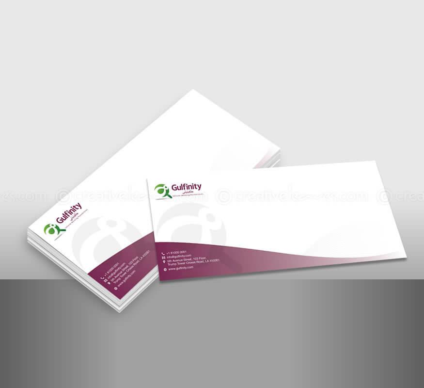 Kerala freelance branding design for Gulfinity, Qatar