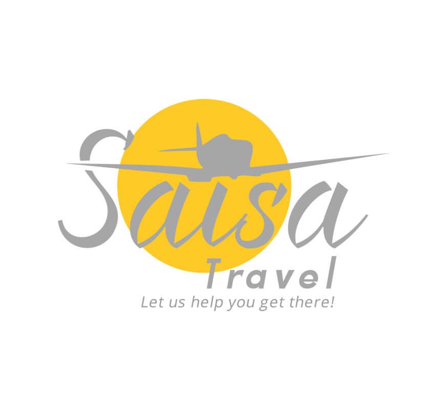 SAISA Travel Agency logo by Kerala freelance logo designer