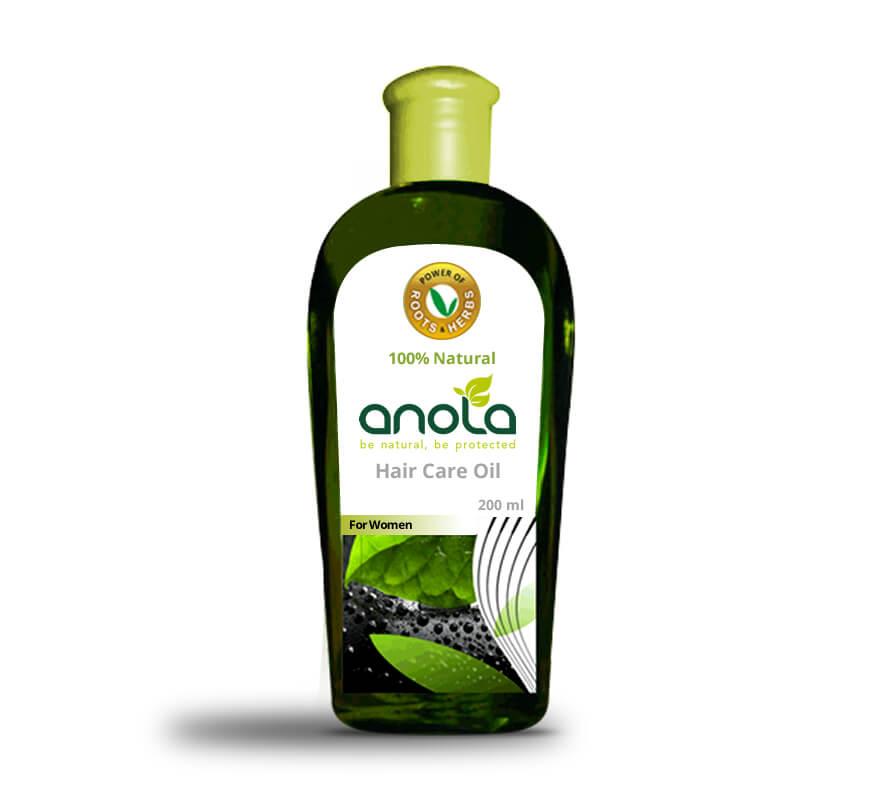 Kerala freelancer branding design for Anola Herbal