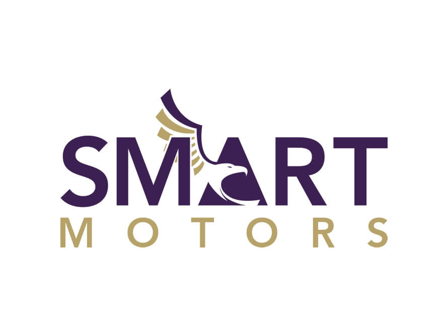 Kerala freelance logo and branding design for Smart Motors Zambia
