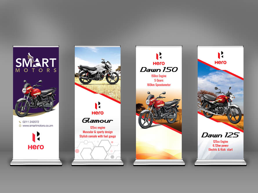 Kerala freelance Roll Up Banner designer