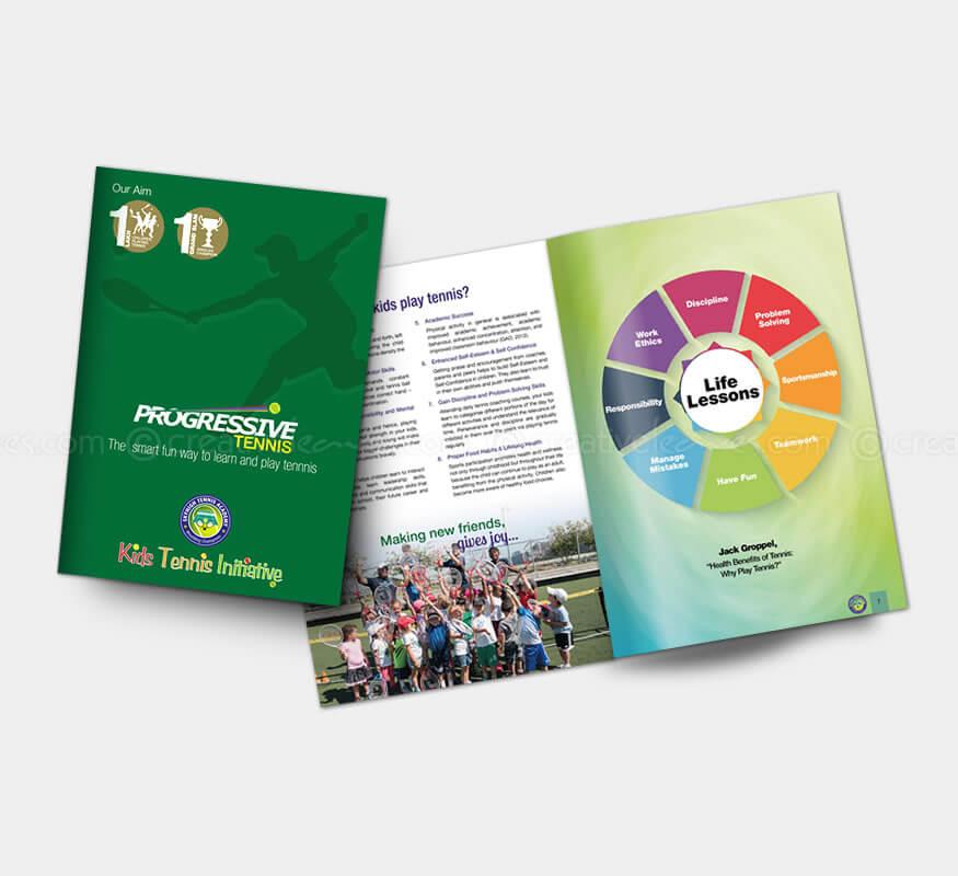 Kerala freelance A4 brochure designer