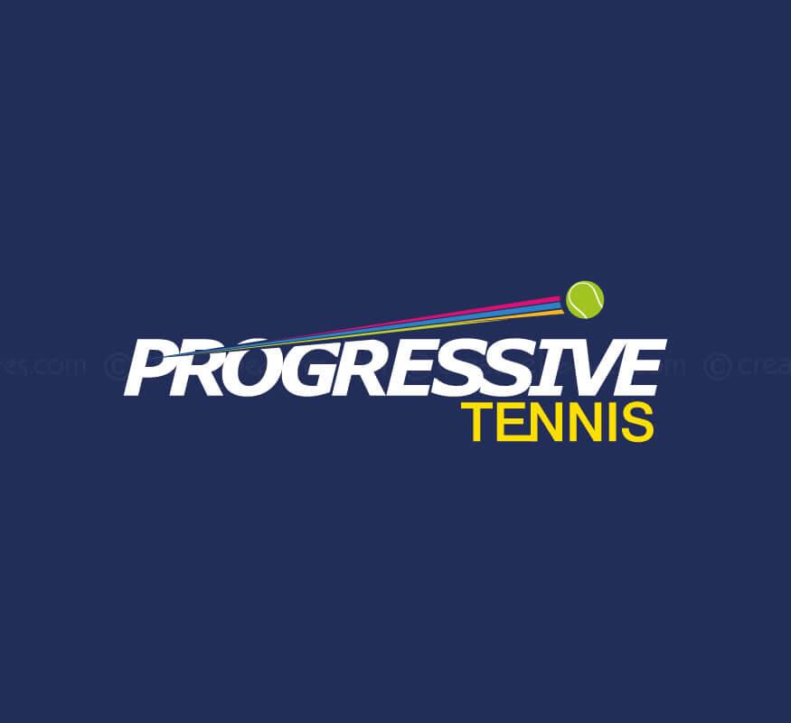 Kerala freelance logo designer for SkyHigh Tennis Academy