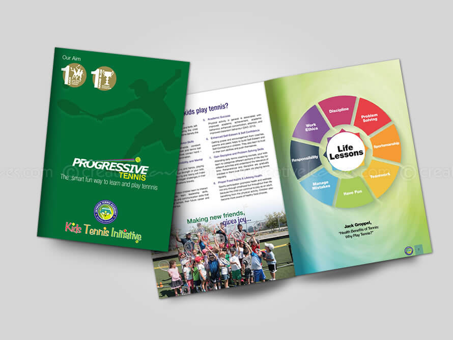 Kerala freelance A4 brochure design