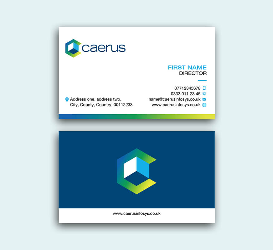 Kerala freelance logo design for Caerus Infosys Limited, Yorkshire, England