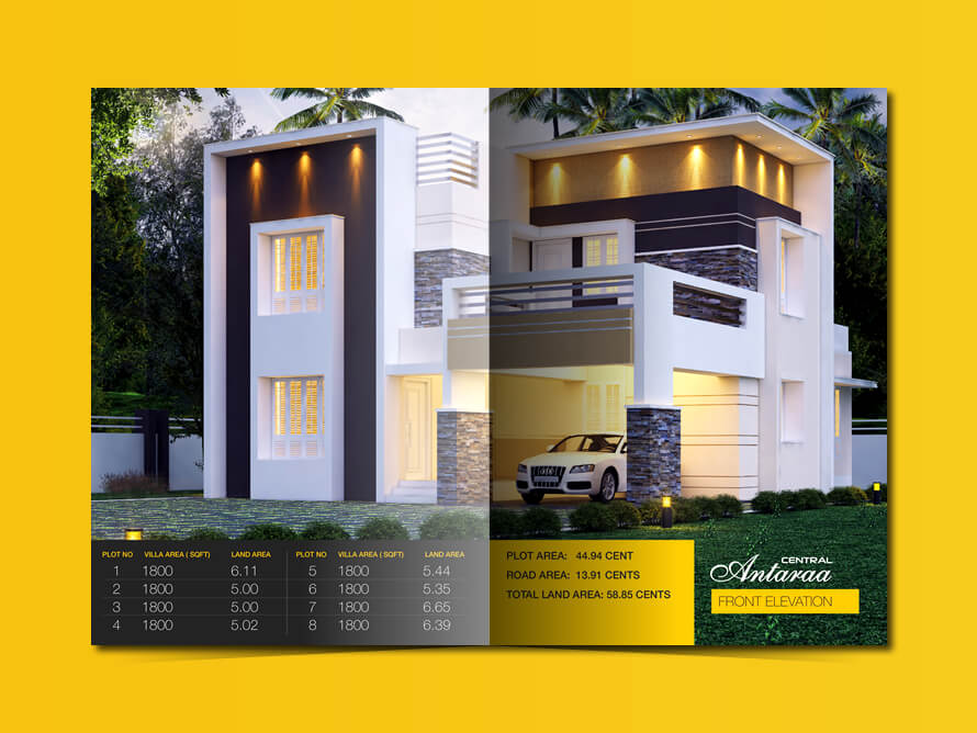 Kerala freelance brochure design