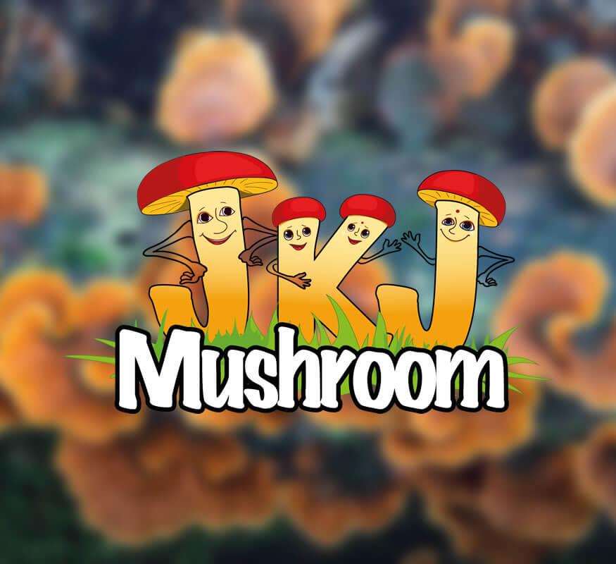 Kerala Freelance Logo design for JKJ Mushroom