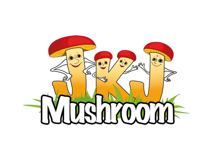 Kerala freelance logo design JKJ Mushroom
