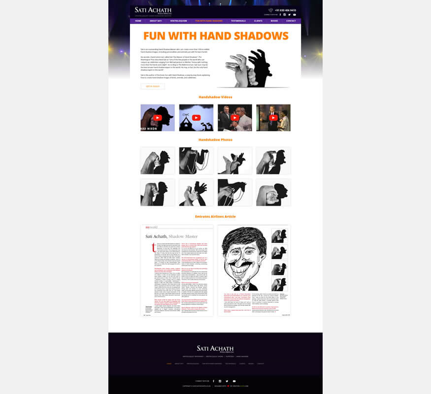 Responsive Wordpress by Kerala freelance web designer