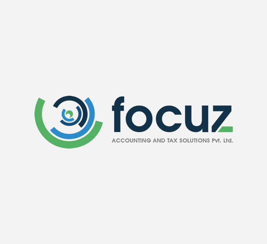 Freelance logo design for Focuz Accounting & Tax Solutions (P) Ltd