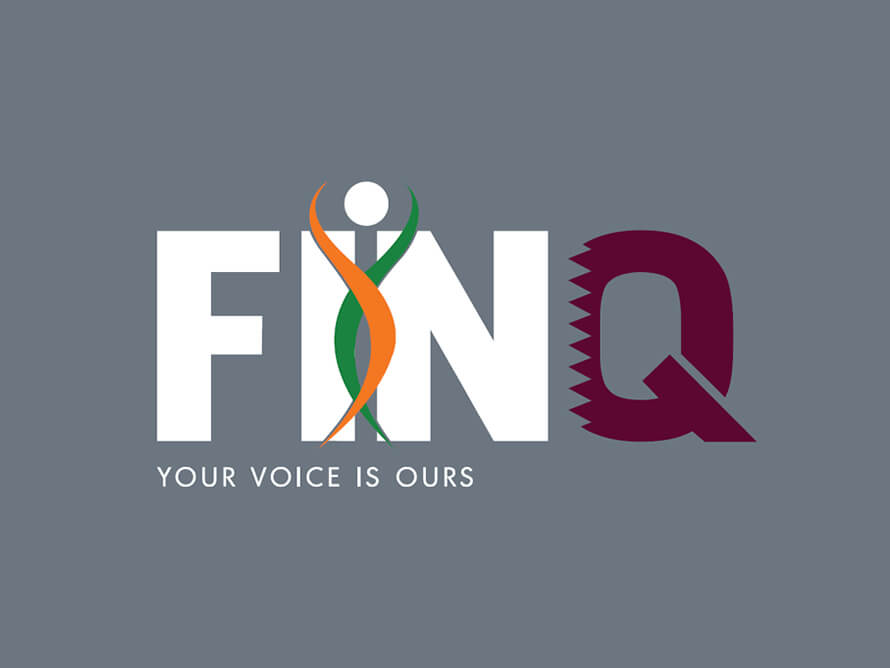 Logo design for Federation of Indian Nurses Qatar[FINQ]
