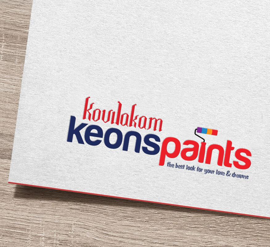 Kerala Freelance Logo design for Keons Paints