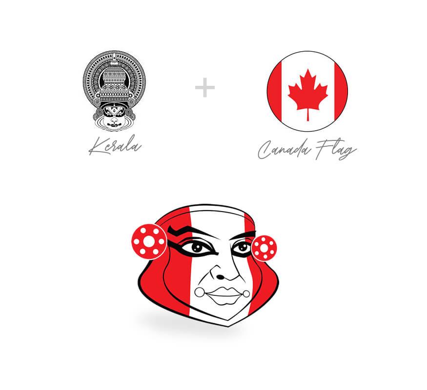 Kerala freelance logo design for Canada Malayali Professionals Directory