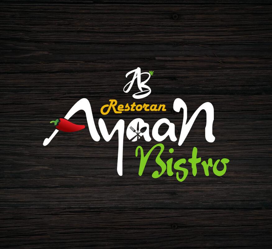 Kerala Freelance Logo Design for Ayaan Restaurant, Malaysia