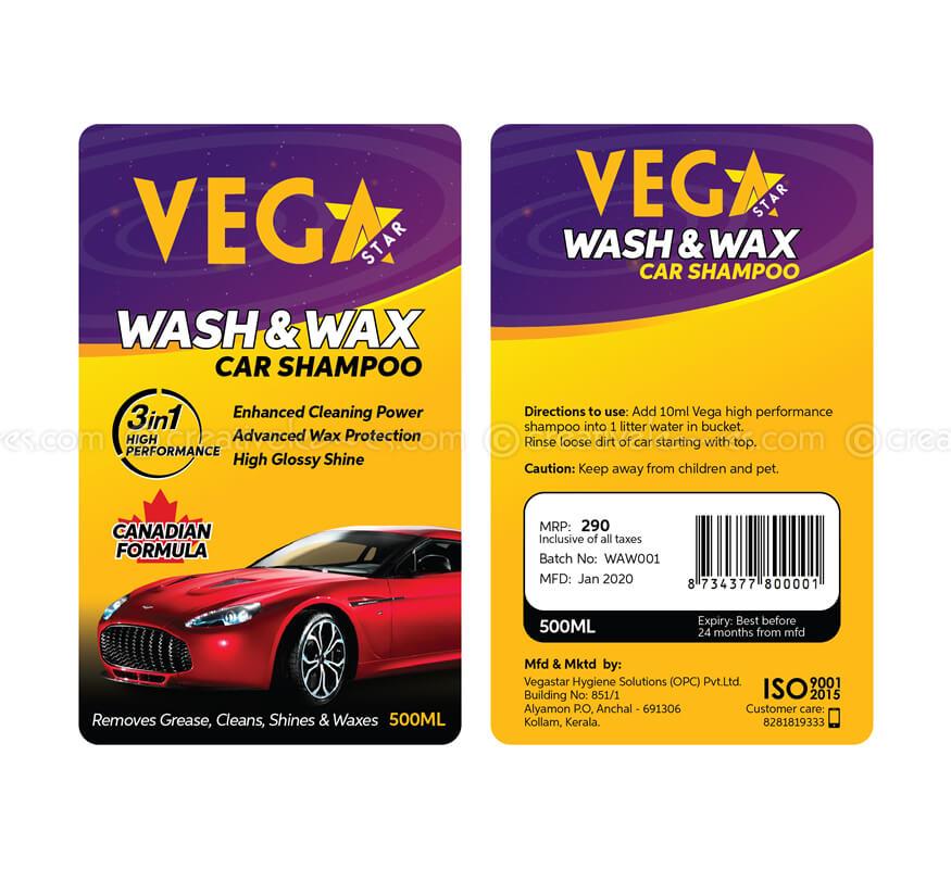 Kerala freelance product label design for designs for Vegastar Hygiene Solutions Pvt Ltd