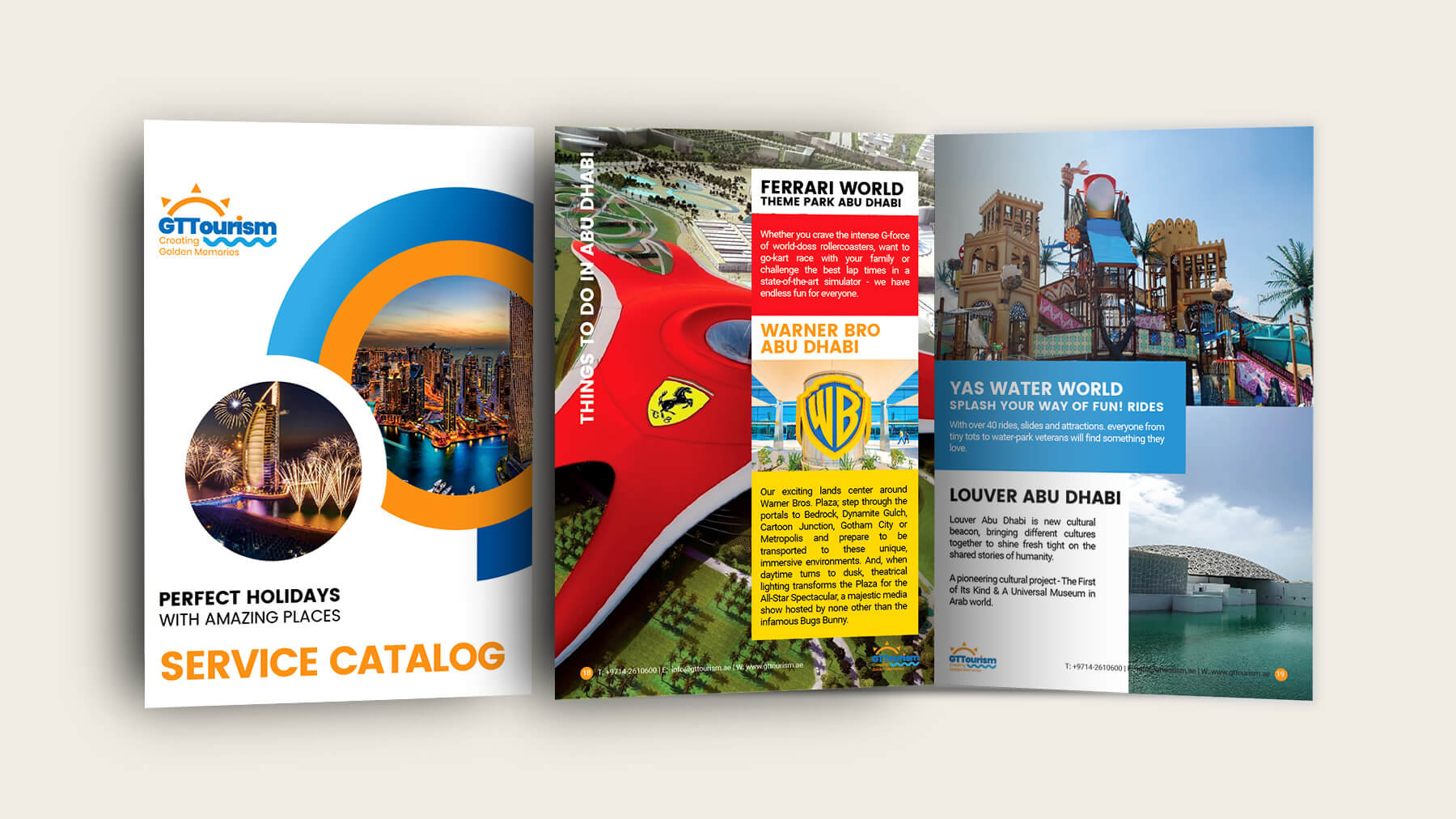 Kerala Freelance Service Catalog Design for Golden Talent Tourism, Dubai, United Arab Emirates