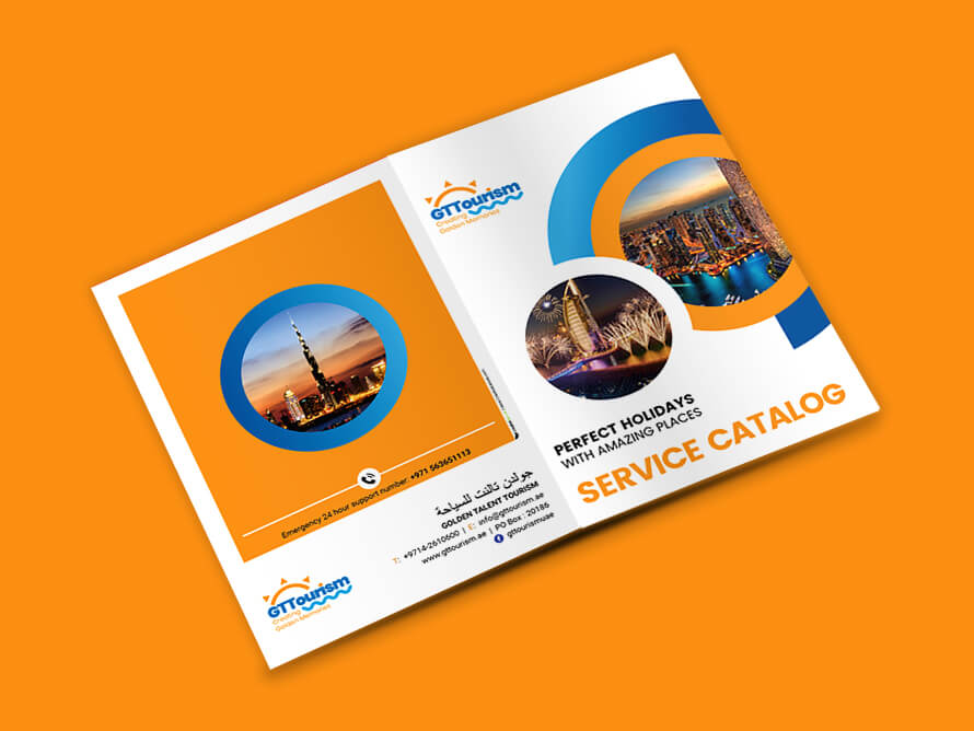 Kerala Freelance Service Catalog Design for Golden Talent Tourism, Dubai, United Arab Emirates