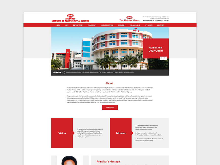 Muthoot Institute of Technology and Science (MITS)